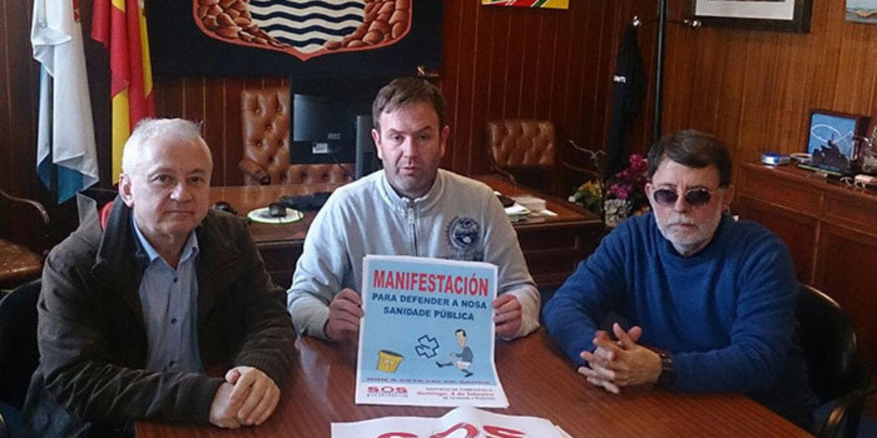 O concello de Sada apoia a manifestación convocada por SOS Sanidade Pública  o 4 de febreiro en Compostela