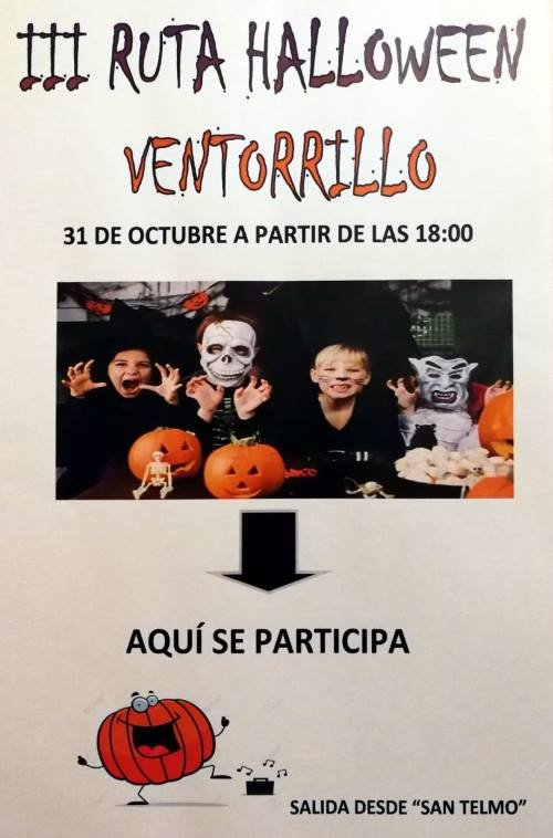 III ruta halloween Ventorrillo