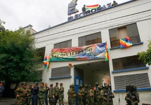 Ejército boliviano toma oficinas de Iberdrola en 2013