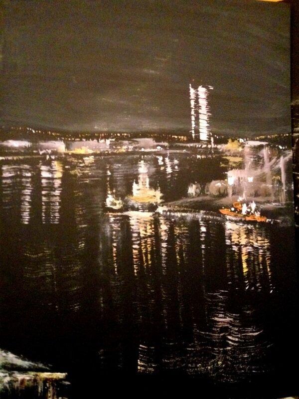 Pintura de Xulia Weinberg
