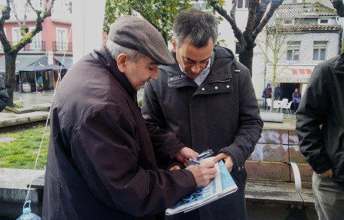 Entrevista a Xulio Ferreiro, candidato da Marea Atlántica á alcaldía da Coruña