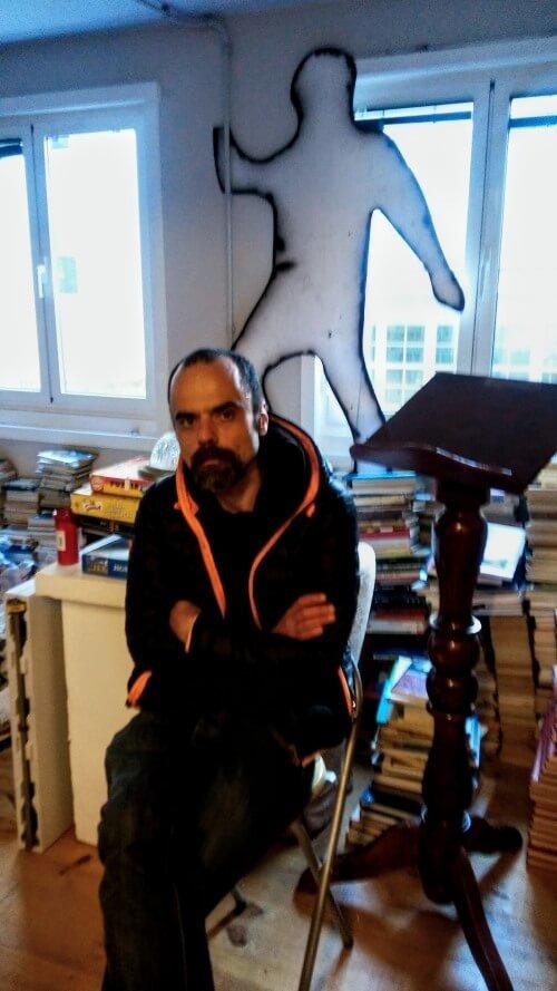Raúl Sánchez, autor de Shooter, novela ciberpunk