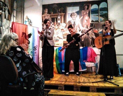 XV Premios Marcela y Elisa. Actuación de Las Antonias