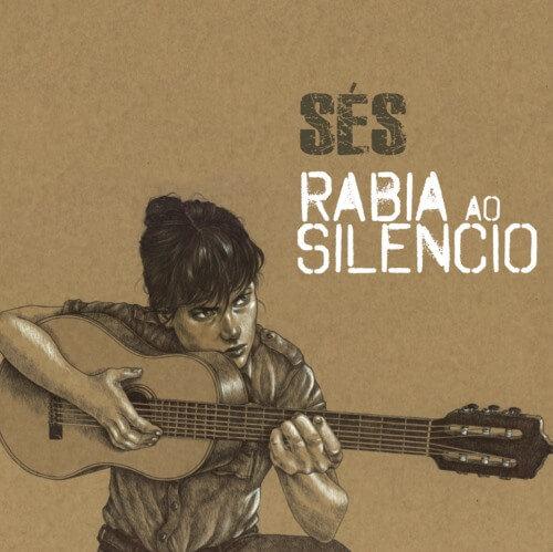 """Portada del nuevo disco de Sés, """"Rabia ao silencio"""""""