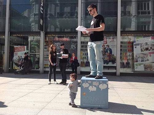 Andrés Ad Hoc, combate poético