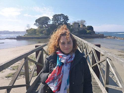 Lidia Blue, combate poético