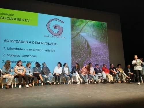 Galicia Aberta en el lanzamiento de la 2ª Marcha Mundial por la Paz y la Noviolencia