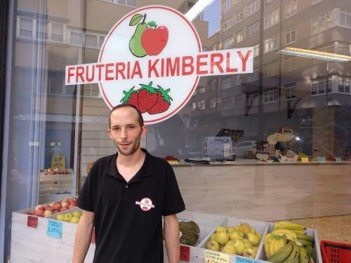 Andrés, de Frutería Kimberly