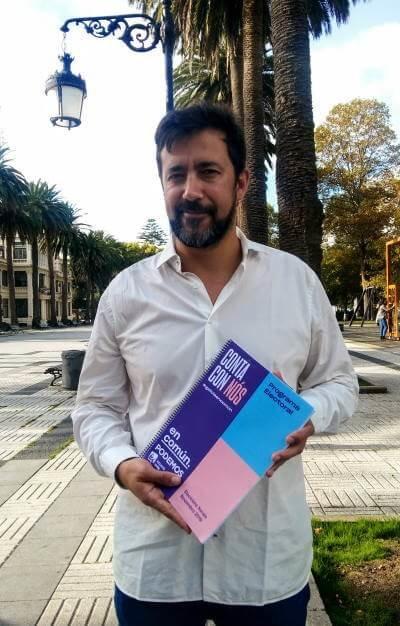 Antón Gómez-Reino, candidato de En Común Podemos na provincia da Coruña